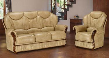 G & G Italia Senna Leather Sofas