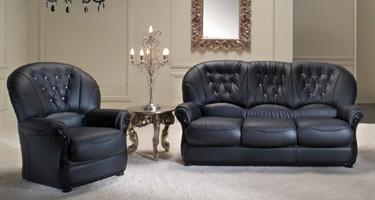 G & G Italia Vienna Leather Sofas
