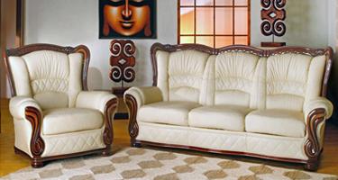 G & G Italia Zara Leather Sofas