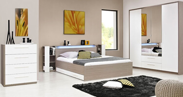 Gami Faro Wooden Bedroom