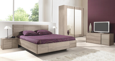 Gami Quadra Wooden Bedroom