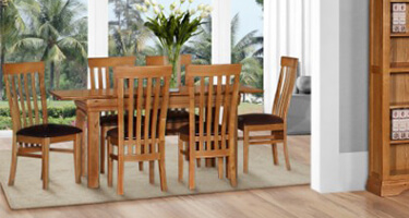 Gannons Furniture Doral Dining Room