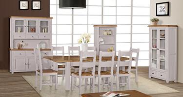 Gannons Furniture Vinton Dining Room