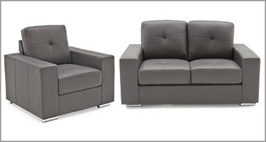 Vida Living Gemona Grey Sofa