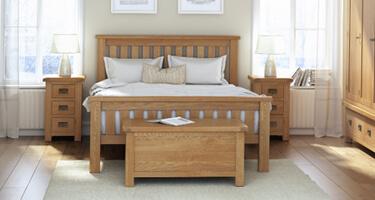 Global Home Bergerac Oak Bedroom