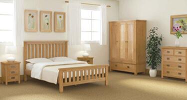 Global Home Bergerac Petite Oak Bedroom