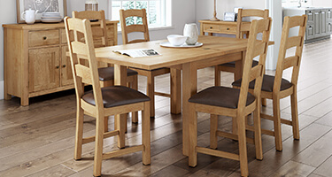 Global Home Cork Lite Dining Room