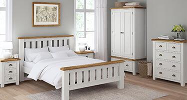Global Home Odyssey Painted Bedroom