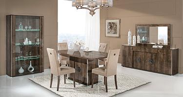 H2O Design Athen Rovere Monte Italian Dining Room