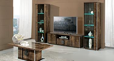 H2O Design Athen Rovere Monte Italian Living Room