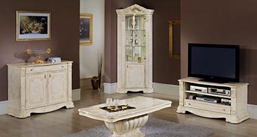 H2O Design Elizabeth Beige Italian Living Room