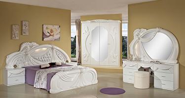 H2O Design Gina White Bedroom