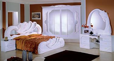 H2O Design Vanity White Italian Bedroom