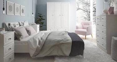 Hampshire White Bedroom