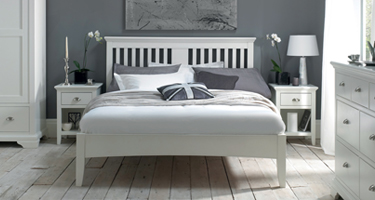 Bentley Designs Hampstead White Bedroom