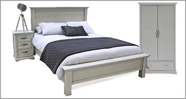 Vida Living Harlow Grey Bedroom