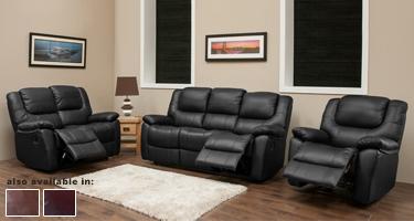 Harvey Leather Sofas