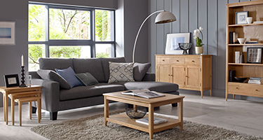 Heritance Wordley Oak Living Room