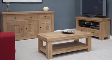 Homestyle GB Bordeaux Oak Living Room