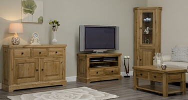 Homestyle GB Deluxe Oak Living Room