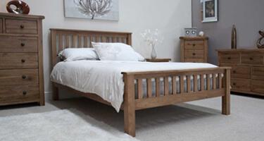 Homestyle GB Rustic Oak Bedroom