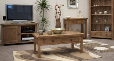 Homestyle GB Rustic Oak Living Room