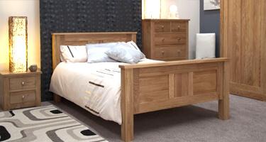 Homestyle GB Torino Oak Bedroom