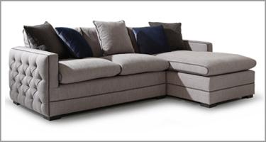 Vida Living Ivy Grey Sofa