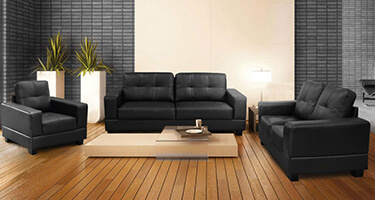 Jessy Faux Leather Sofas