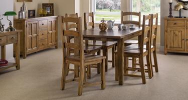 Julian Bowen Aspen Pine Dining Room