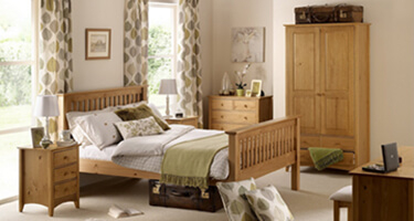 Julian Bowen Kendal Solid Pine Bedroom