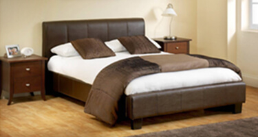 Julian Bowen Leather Beds