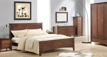 Julian Bowen Minuet Wenge Bedroom