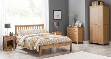 Julian Bowen Salerno Oak Bedroom