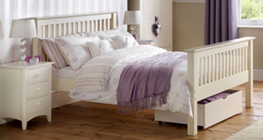 Julian Bowen White Bed Frames