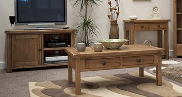 Julian Bowen Astoria Oak Living Room
