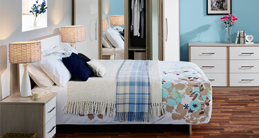 Kingstown Azure Bedroom