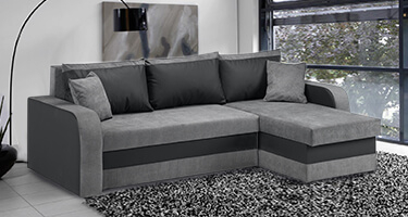 Krish Fabric and Leather Sofas
