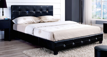 LPD Leather Bed Frames