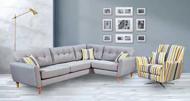 Lebus Candy Fabric Sofas