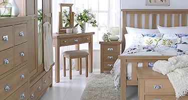 London Oak Bedroom
