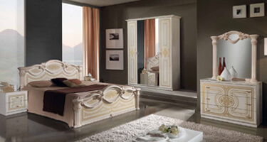 MCS Nena Cream Finish Italian Bedroom