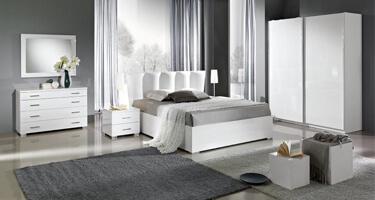 MCS Regent White Finish Bedroom