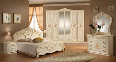 MCS Sara Cream Italian Bedroom