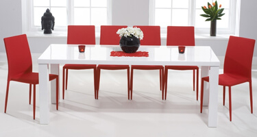 Mark Harris Ava High Gloss Dining Room