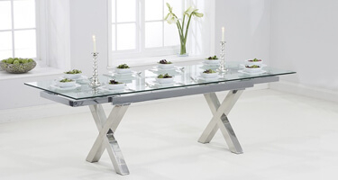 Mark Harris Glass Dining Tables