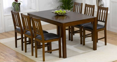 Mark Harris Marbella Solid Oak Dining Room