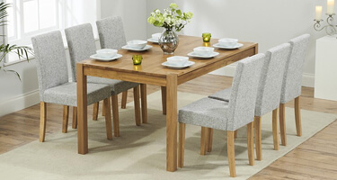 Mark Harris Promo Solid Oak Dining Room