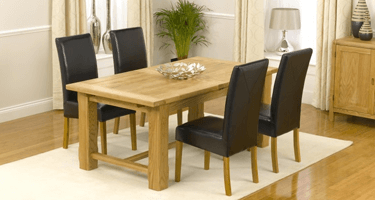 Mark Harris Rustique Oak Dining Room