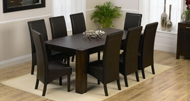 Mark Harris Sandringham Dark Oak Dining Room